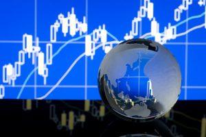 株価の上下